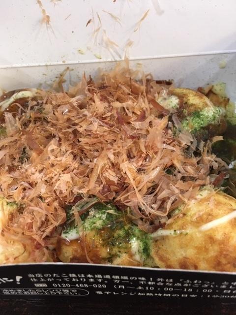 最近の日本食ーたこ焼き、おはぎ、信玄餅_e0350971_14395014.jpg