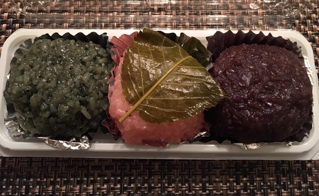 最近の日本食ーたこ焼き、おはぎ、信玄餅_e0350971_14413328.jpg