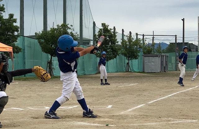 6月15日(土)練習試合結果です! vs八幡野球クラブさん_b0095176_12382309.jpeg