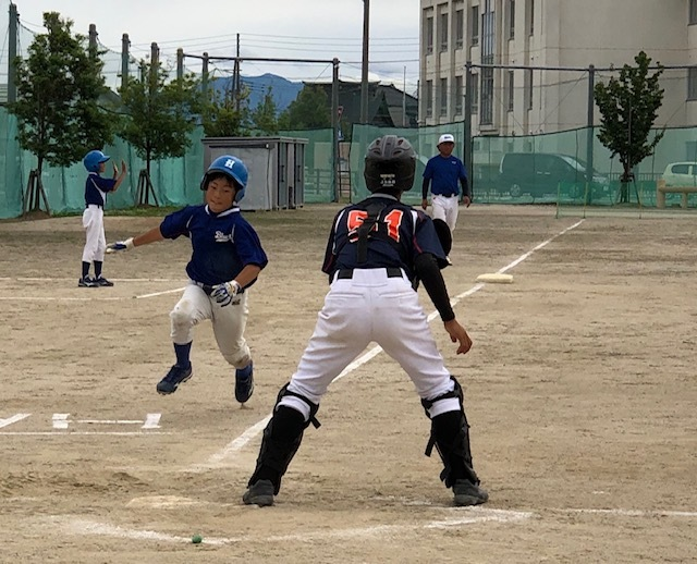 6月15日(土)練習試合結果です! vs八幡野球クラブさん_b0095176_12383418.jpeg