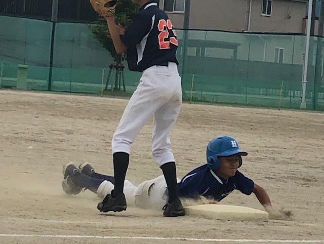 6月15日(土)練習試合結果です! vs八幡野球クラブさん_b0095176_12390952.jpeg
