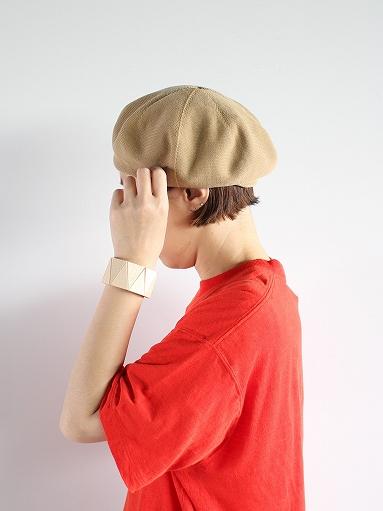 unfil high twist cotton knit small beret _b0139281_1903216.jpg