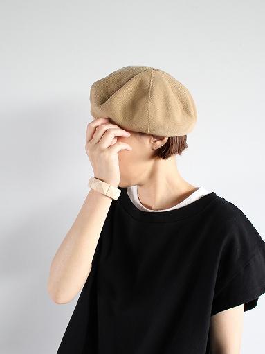 unfil high twist cotton knit small beret _b0139281_1921354.jpg