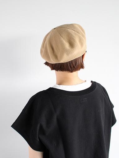 unfil high twist cotton knit small beret _b0139281_1922683.jpg