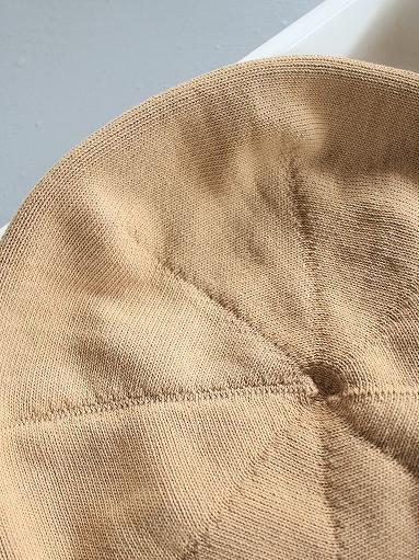 unfil high twist cotton knit small beret _b0139281_1923532.jpg