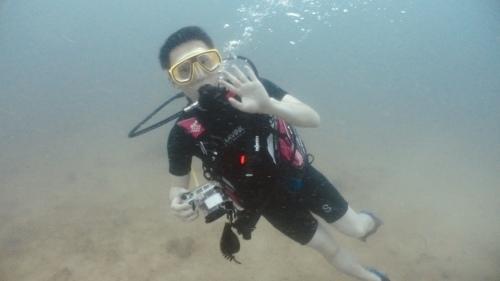 ピピ島でナイスダイブ!!_f0144385_21075233.jpeg