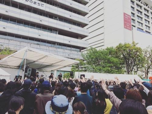 2019.4.29 中野区役所前広場 「NAKANO Fresh ROCK FES.2019」_c0222904_03312929.jpg