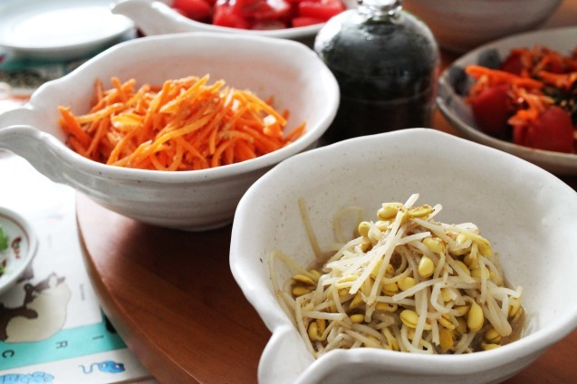 韓国料理教室 おさらい2_d0377645_22534152.jpg