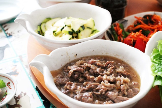 韓国料理教室 おさらい2_d0377645_22535297.jpg