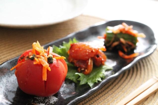 韓国料理教室 おさらい2_d0377645_22535715.jpg