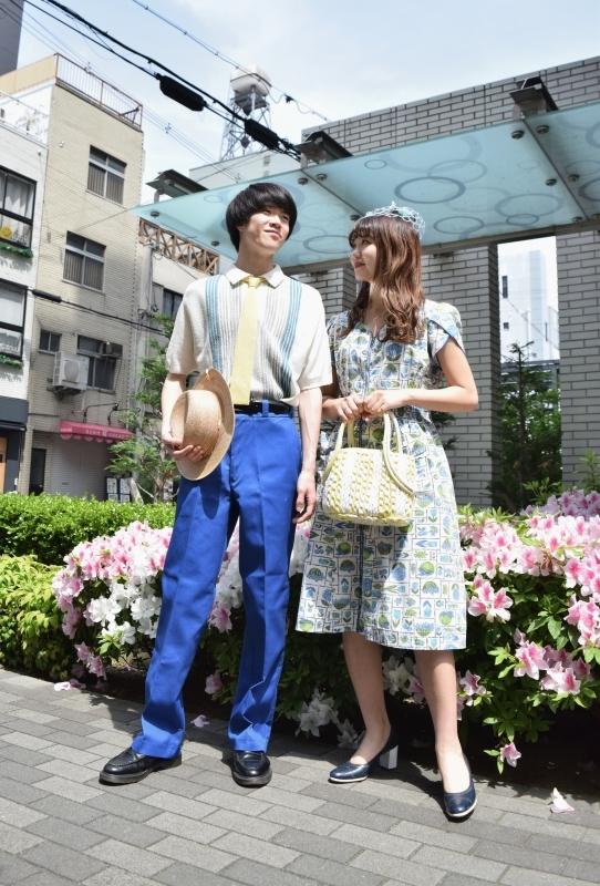 COUPLE DRESS CORDE -BLUE-_e0148852_12451132.jpg