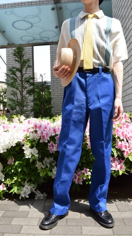 COUPLE DRESS CORDE -BLUE-_e0148852_12452660.jpg