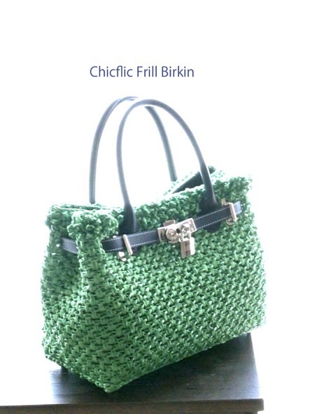 "Chicflic Frill Birkin  "" green\""_d0078355_08391034.jpg"