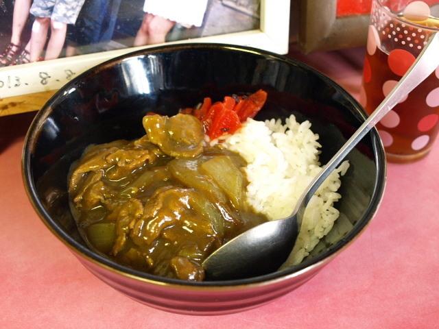 マルケイ食堂 その9 (正油ラーメン 小カレー)_d0153062_10200598.jpg