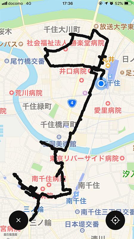 2019/06/19 北千住へ_b0171364_18542399.jpg