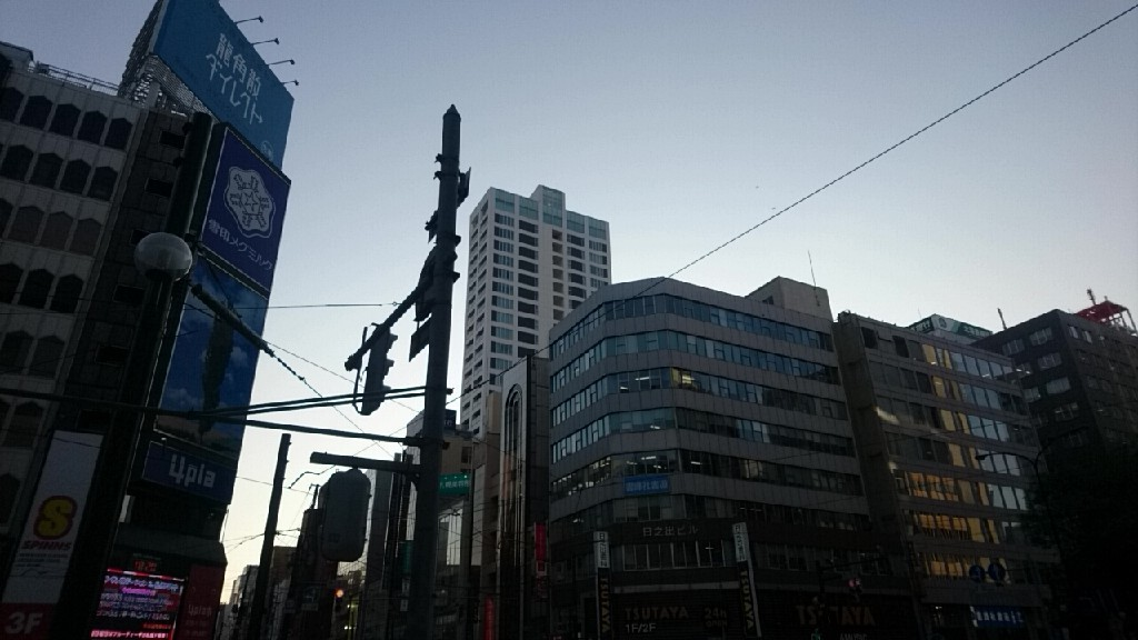 札幌パルコ、4プラのスクランブル交差点_b0106766_19201238.jpg