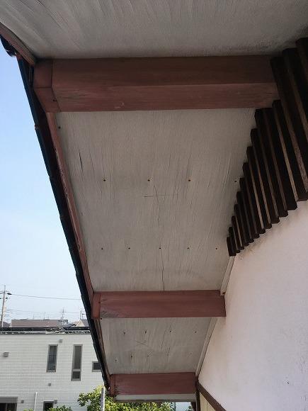 和合 Sさんの家 軒天貼替え工事 ★大工工事_d0205883_16505358.jpg