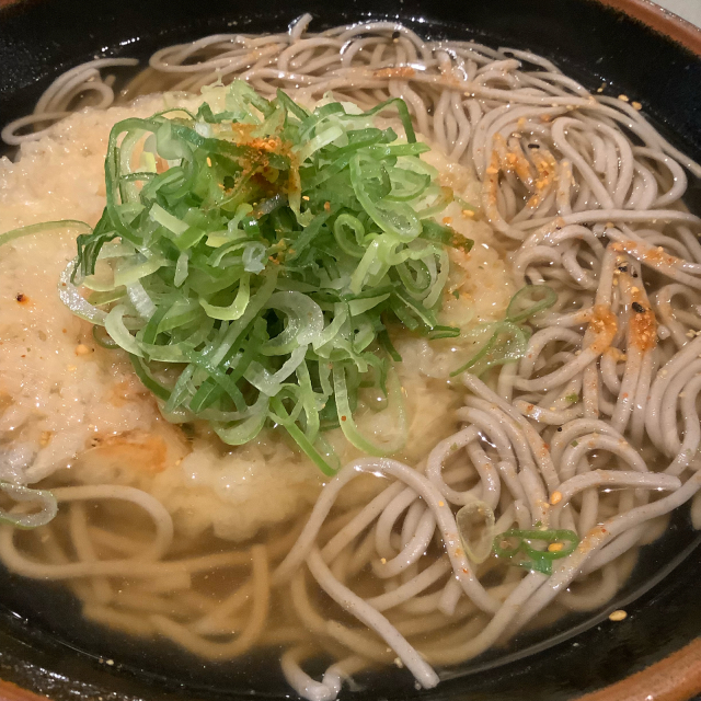 たまの駅蕎麦が美味いんだな、近鉄四日市駅南口「四日市庵」_a0334793_04344725.jpg