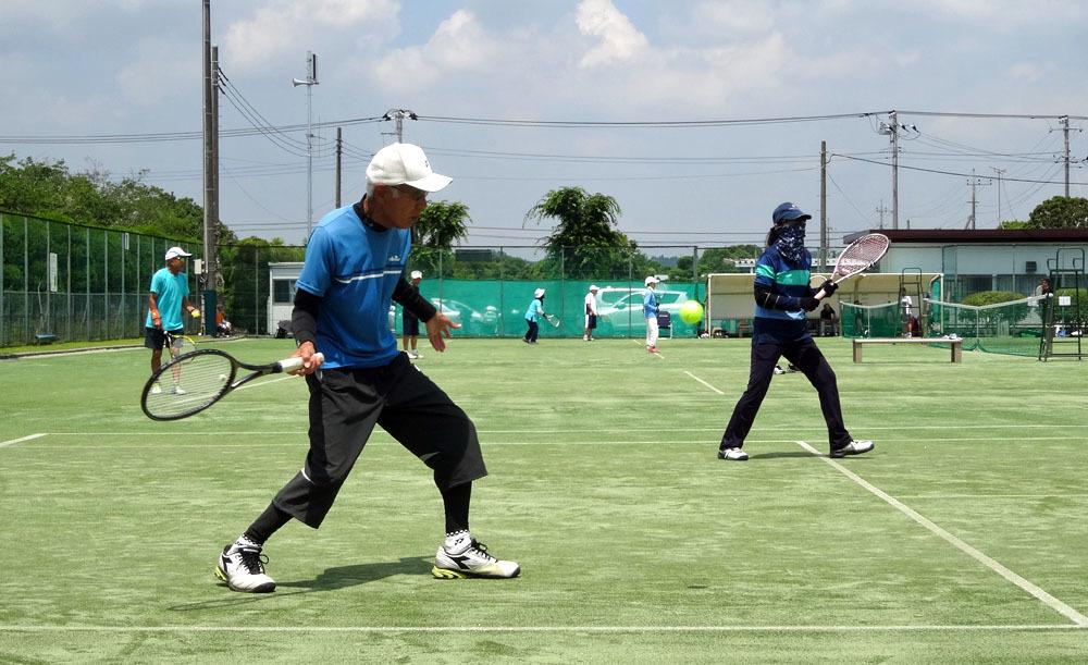 ポロシャツと短パンでテニス_b0114798_17033538.jpg