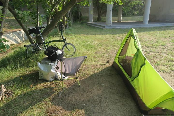 ブロンプトンでキャンプに行ってきました 後半_c0132901_20211039.jpg