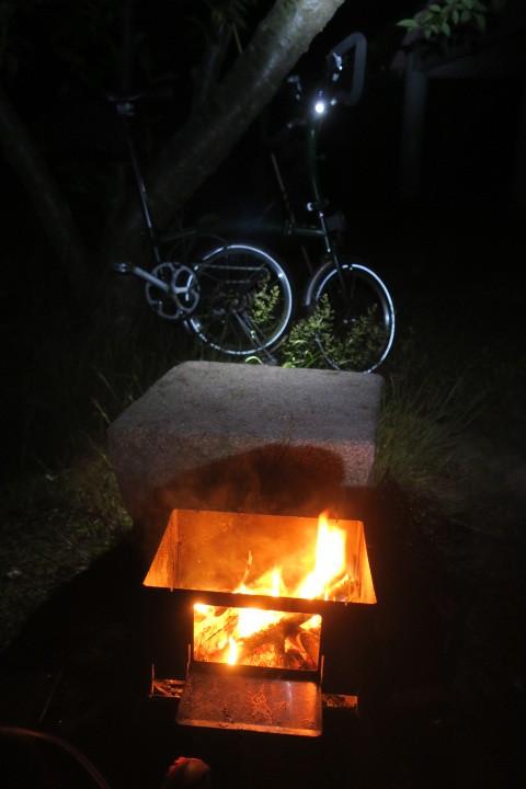 ブロンプトンでキャンプに行ってきました 後半_c0132901_20343480.jpg