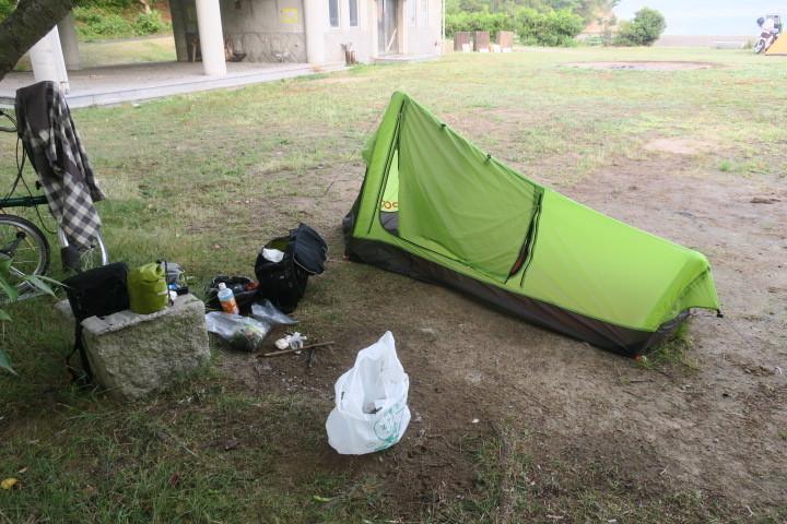 ブロンプトンでキャンプに行ってきました 後半_c0132901_20370284.jpg