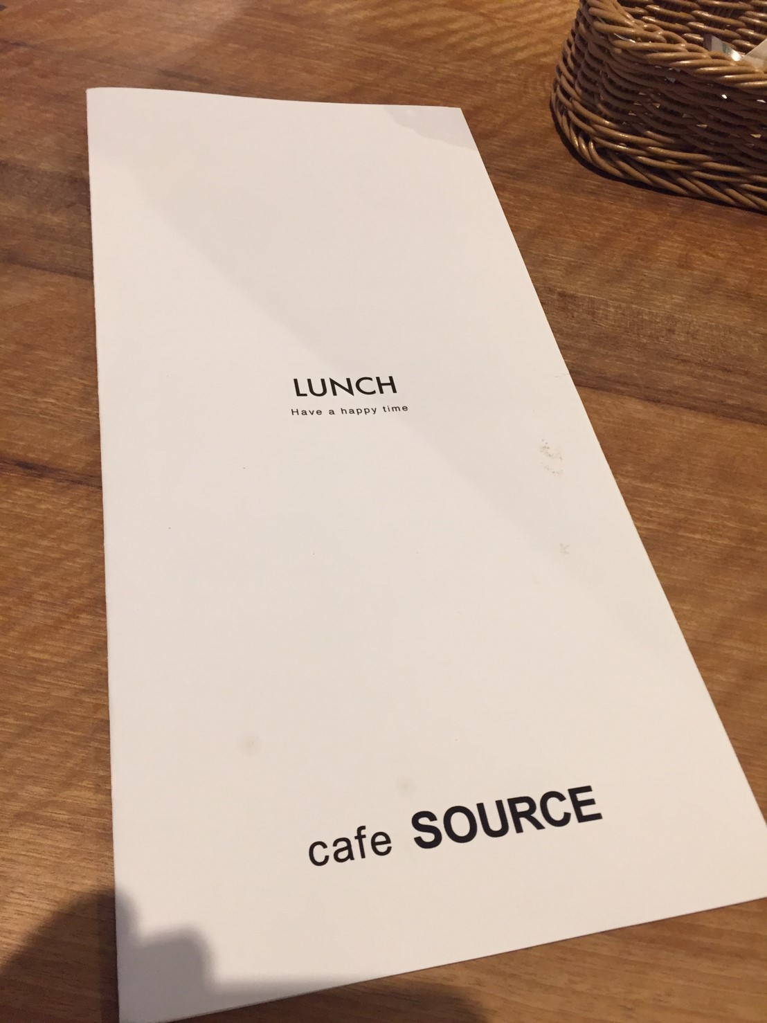 cafe SOURCE ランチ_e0115904_15420077.jpg