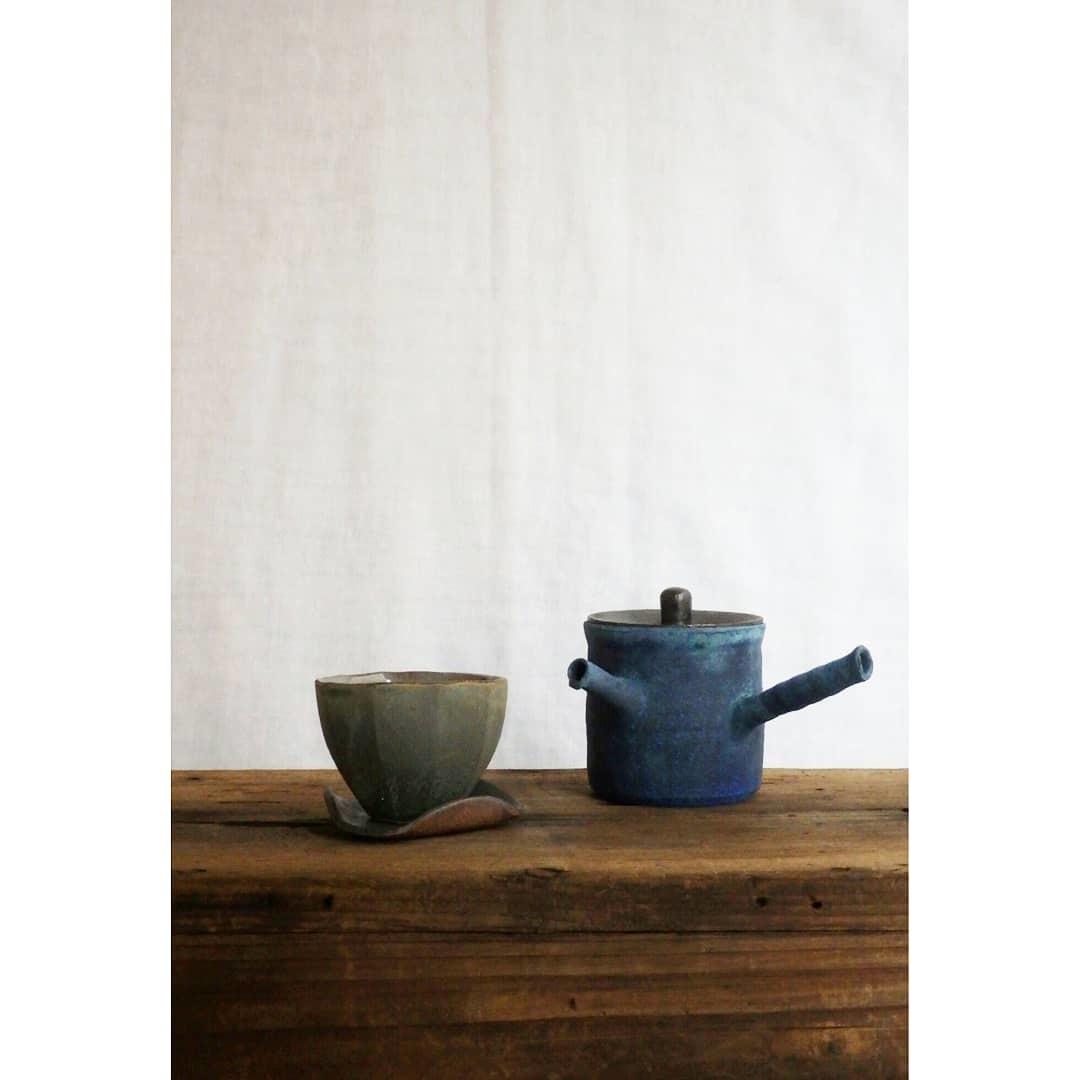 煎茶と花 - 茶器の章1 -_f0351305_19372339.jpg