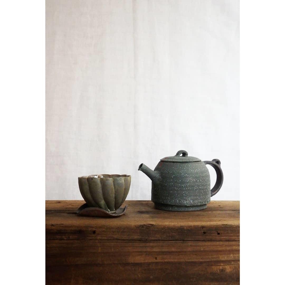 煎茶と花 - 茶器の章1 -_f0351305_19374715.jpg