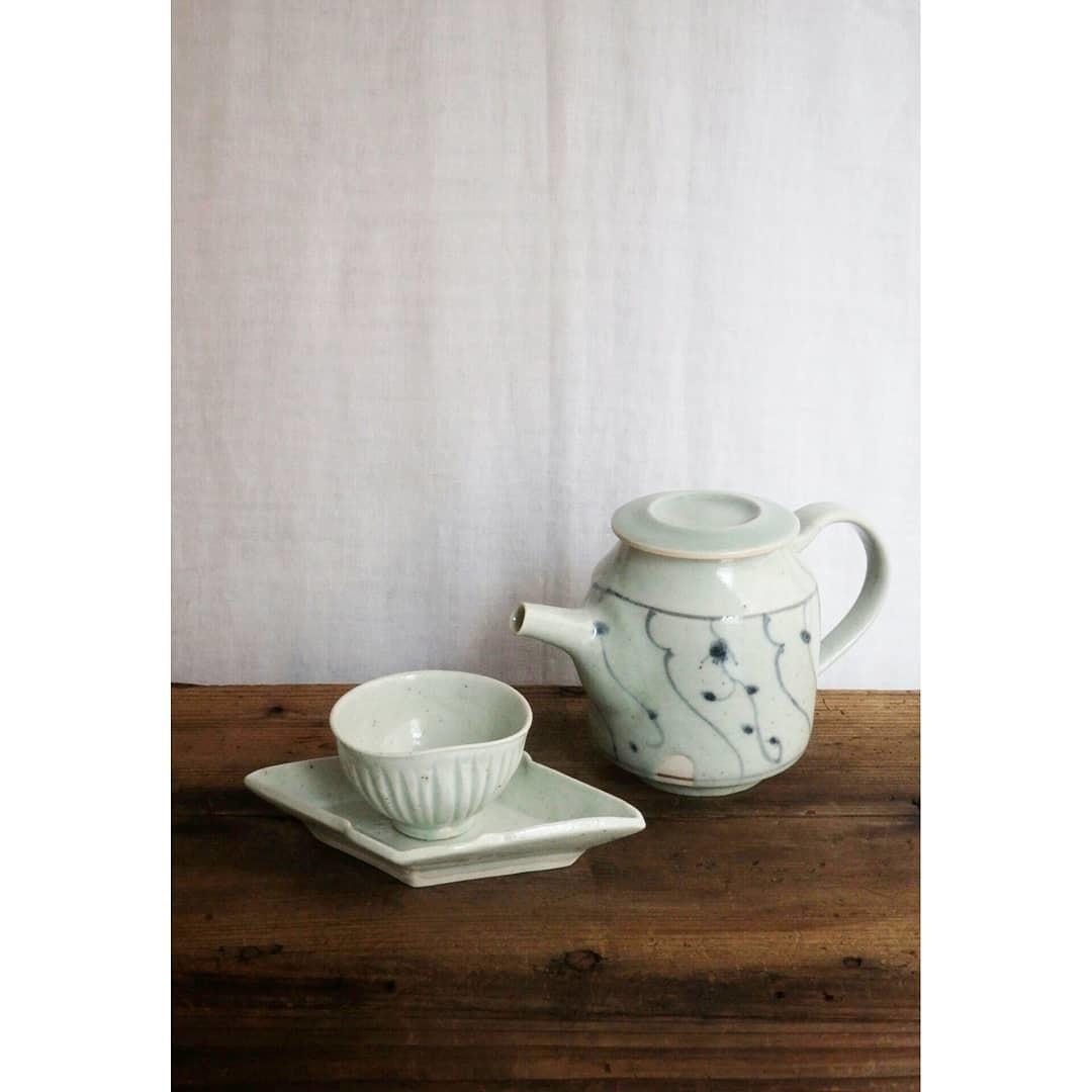 煎茶と花 - 茶器の章1 -_f0351305_19395045.jpg