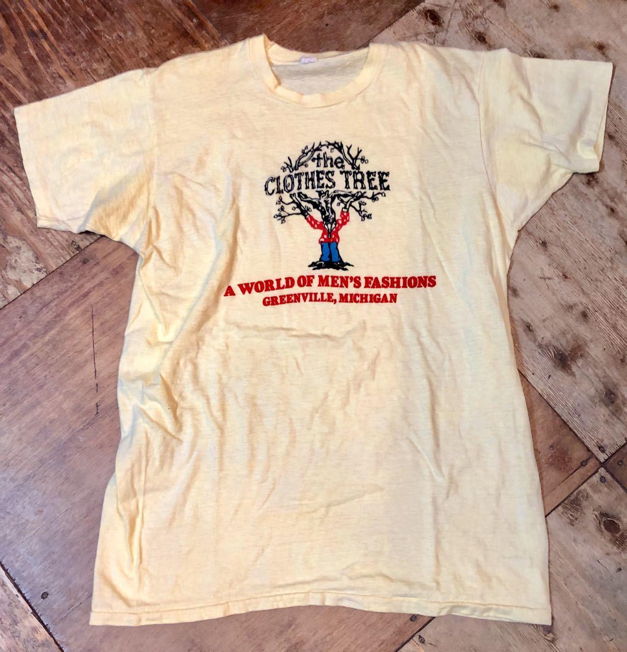 6月20日(木)入荷! 70s all cotton 染み込みプリントTシャツ!_c0144020_13034958.jpg