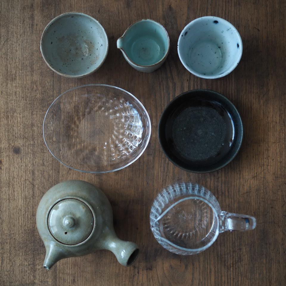 お茶の時間・4人の器で_b0206421_16003353.jpg