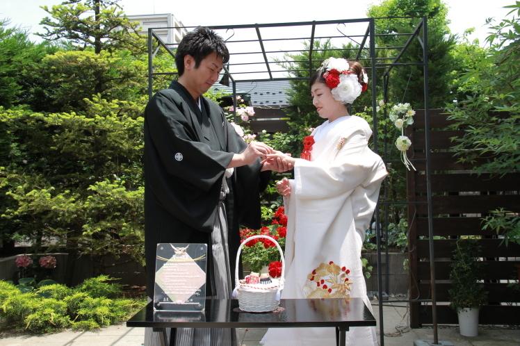 令和婚1の1 お庭で人前式編_f0377325_20432148.jpg