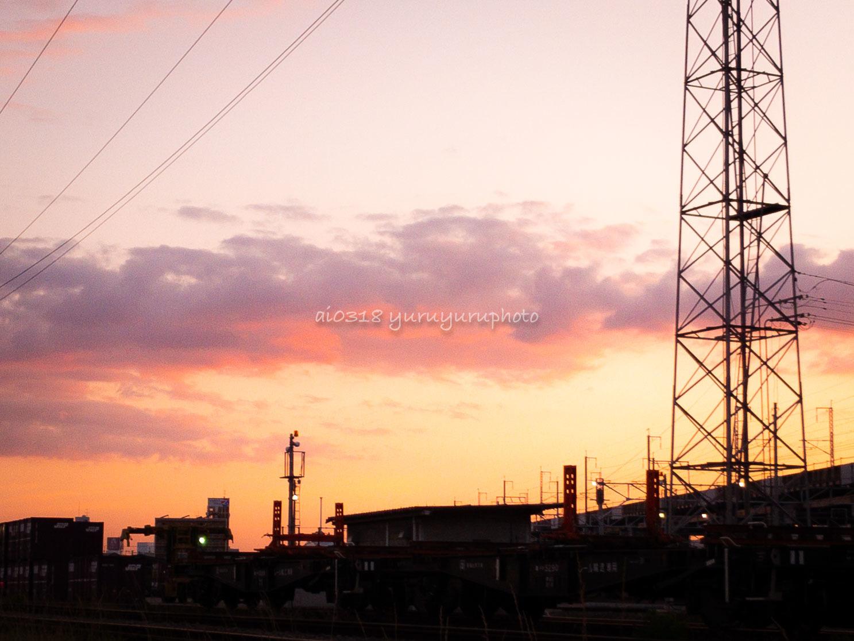 夕空のお気に入り。_b0304227_22491767.jpg