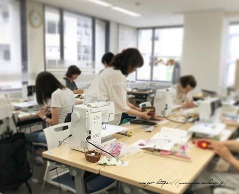 【ヴォーグ学園東京校布小物講座】ポシェット&裁縫ポーチが完成♪_f0023333_22065701.jpg