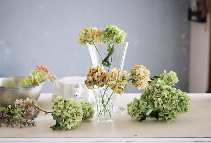 紫陽花のドライフラワーは手作りで♡_d0351435_06503056.jpg
