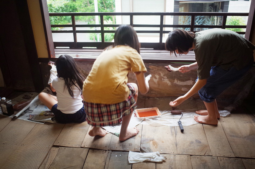 昔ながらの自然塗料で、古町家を手入れする②_d0227246_10121605.jpg