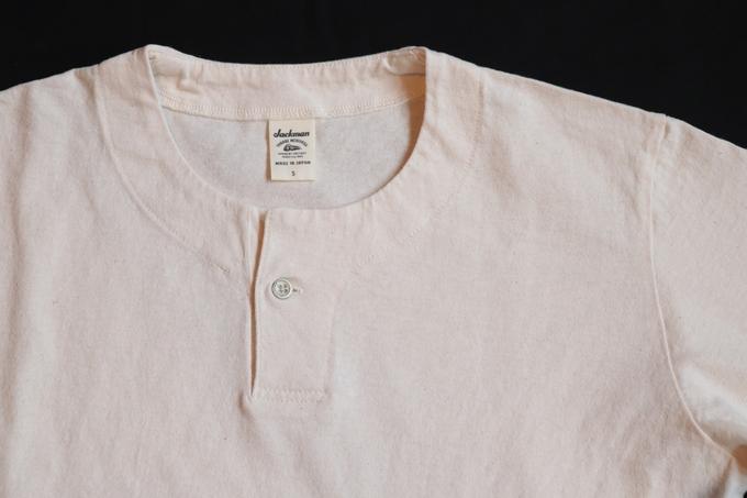 Jackman Henly neck T-Shirts _d0140452_16582347.jpg