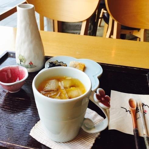 ひとりソウル旅 16 美味しいな~冷たいカボチャのシッケ♪_f0054260_21042371.jpg