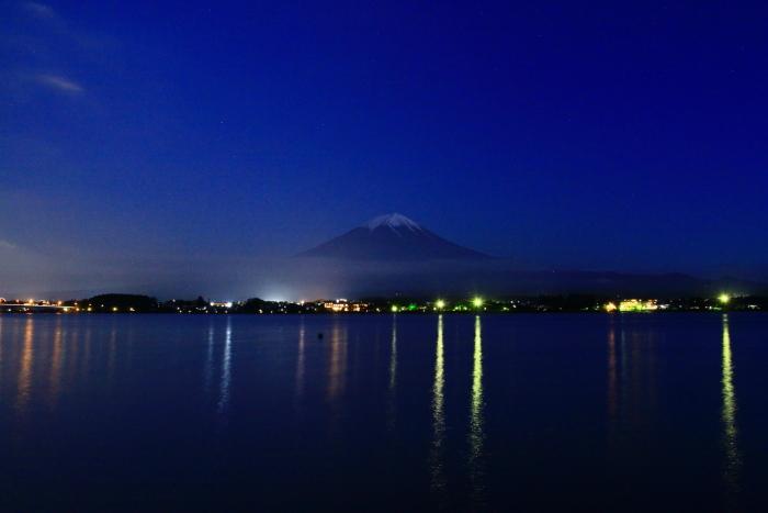 令和元年6月の富士(12)河口湖の夜の富士_e0344396_18095053.jpg
