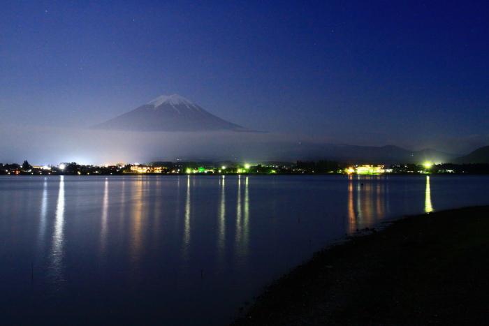 令和元年6月の富士(12)河口湖の夜の富士_e0344396_18101280.jpg