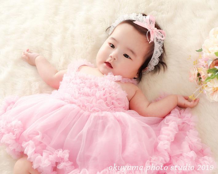 ピンクのふわふわドレスで撮影_c0115401_15410152.jpg