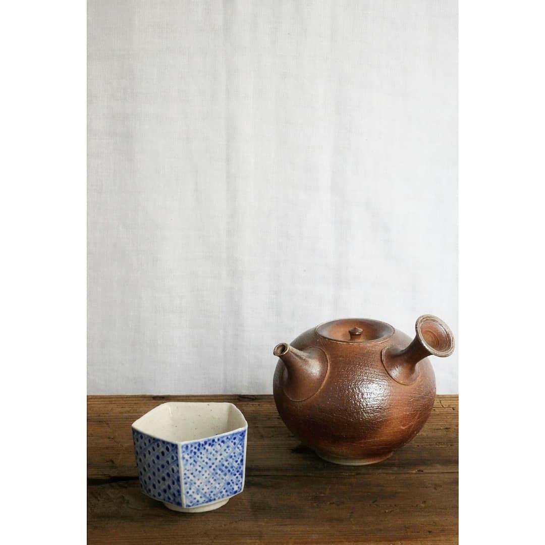 煎茶と花 - 茶器の章1 -_f0351305_19190294.jpg