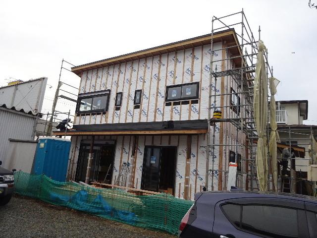 西仙北の家 大工工事進行中!_f0105112_04215185.jpg