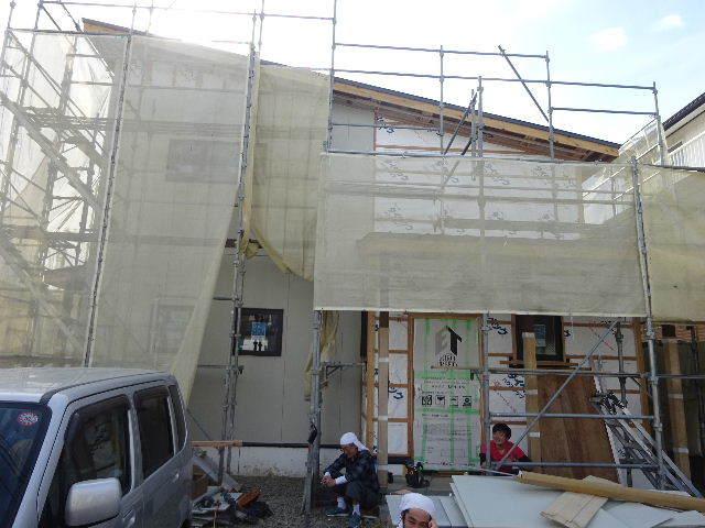 西仙北の家 大工工事進行中!_f0105112_04265939.jpg