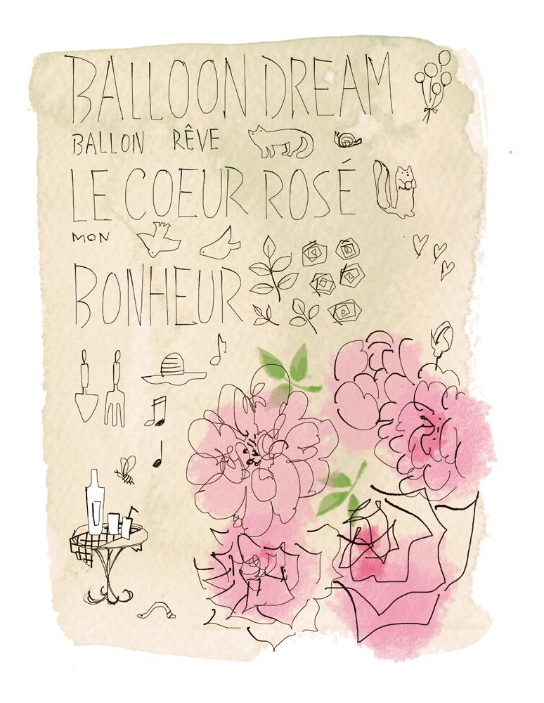 カフェに飾っていただいています。「わたしの庭のエトセトラ」_f0172313_00592324.jpg