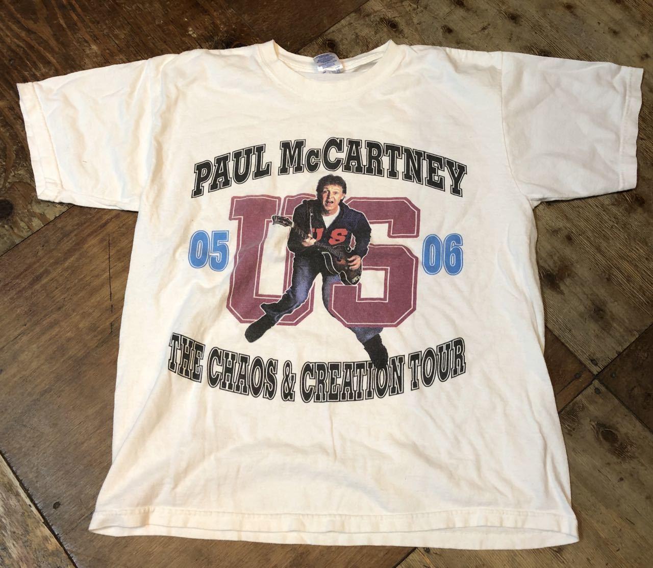 6月22日(土)入荷!05-06年 ポールマッカートニー ツアーTシャツ!_c0144020_14311126.jpg