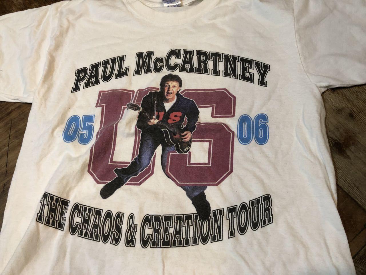 6月22日(土)入荷!05-06年 ポールマッカートニー ツアーTシャツ!_c0144020_14311783.jpg