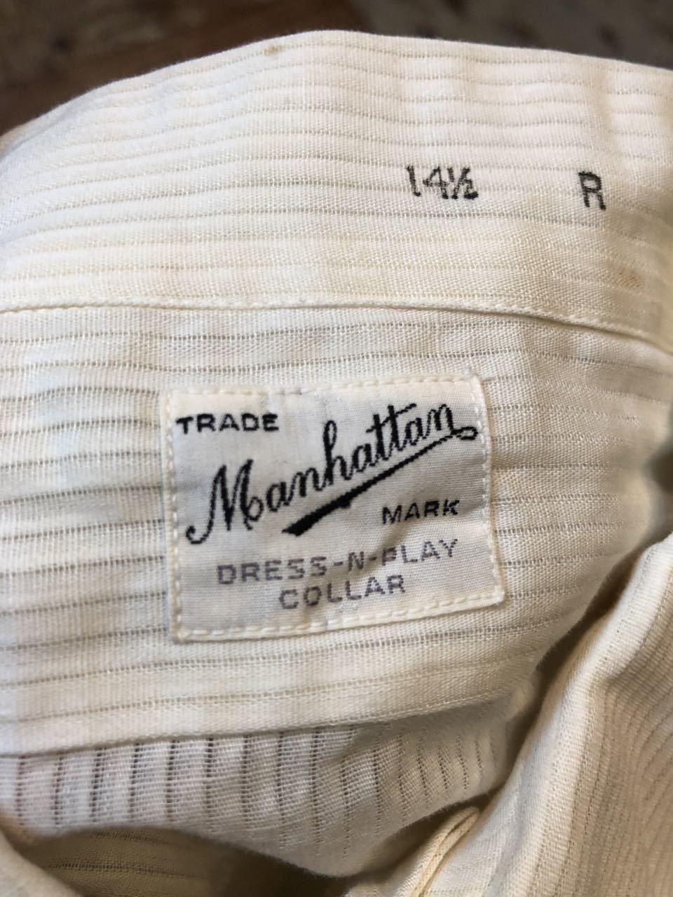 6月22日(土)入荷!40s  all cotton Manhattan シャツ!_c0144020_14484878.jpg