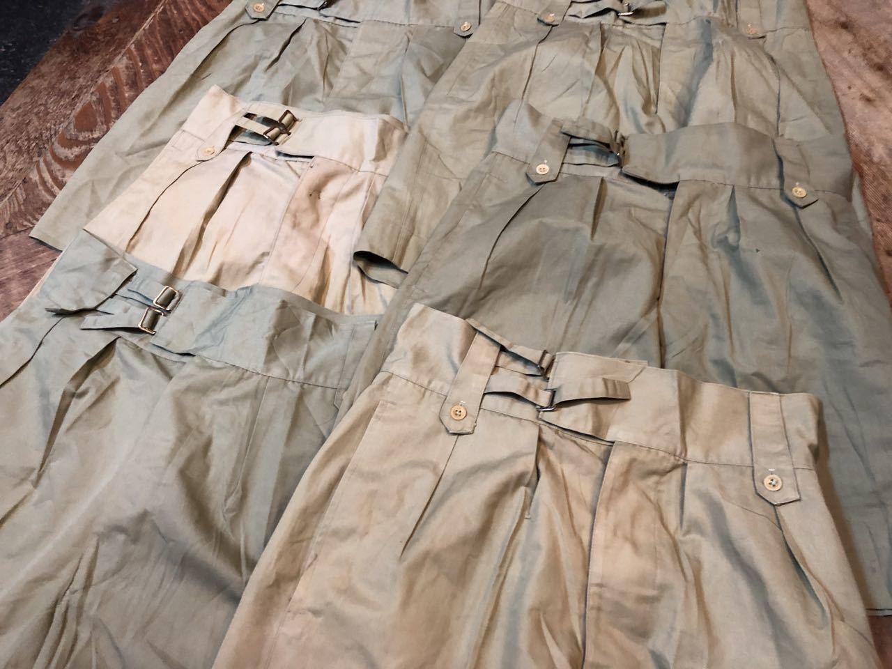 6月22日(土)入荷! all cotton 60−70s U.S スタンプ グルカショーツ!_c0144020_16092797.jpg